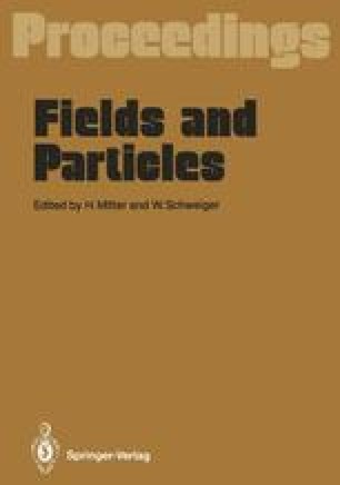 Fields and Particles
