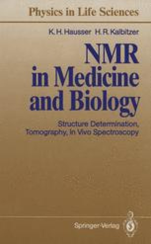 NMR in Medicine and Biology
