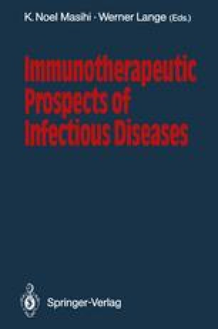 Immunotherapeutic Prospects of Infectious Diseases