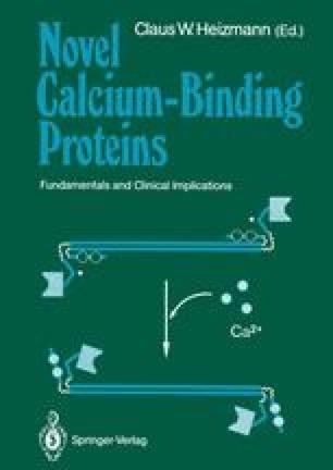 Novel Calcium-Binding Proteins