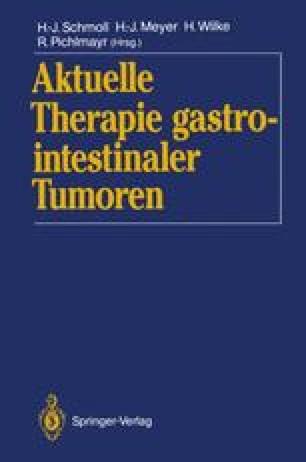Aktuelle Therapie gastrointestinaler Tumoren