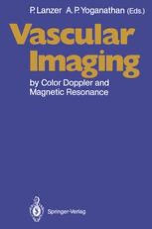 Vascular Imaging by Color Doppler and Magnetic Resonance
