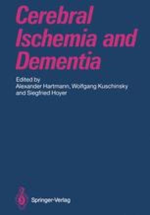 Cerebral Ischemia and Dementia