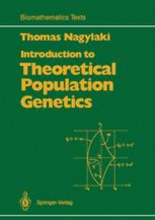 Introduction to Theoretical Population Genetics