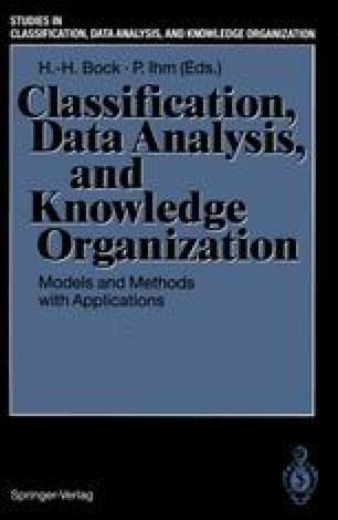 Classification, Data Analysis, and Knowledge Organization