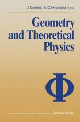 Geometry and Theoretical Physics