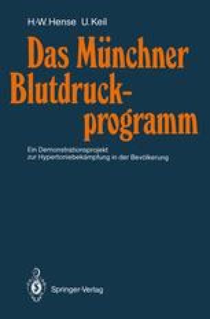 Das Münchner Blutdruckprogramm