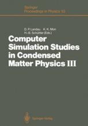 Computer Simulation Studies in Condensed Matter Physics III