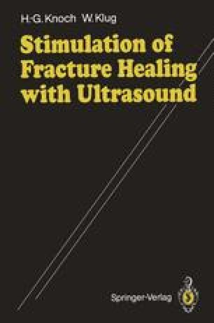 Stimulation of Fracture Healing with Ultrasound