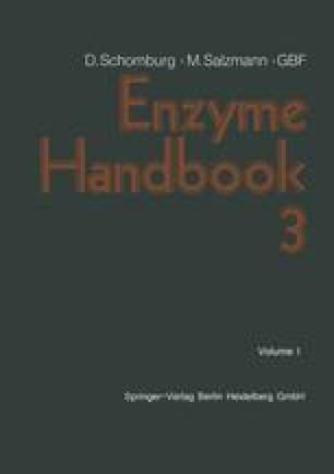 Enzyme Handbook 3