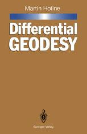 Differential Geodesy
