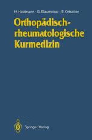 Orthopädischrheumatologische Kurmedizin