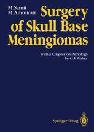 Surgery of Skull Base Meningiomas