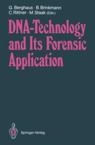 DNA — Technology and Its Forensic Application