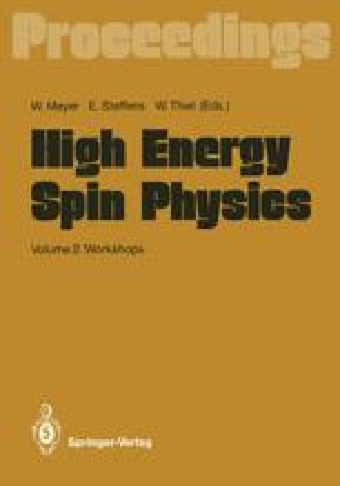 High Energy Spin Physics