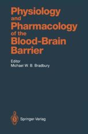 Physiology and Pharmacology of the Blood-Brain Barrier
