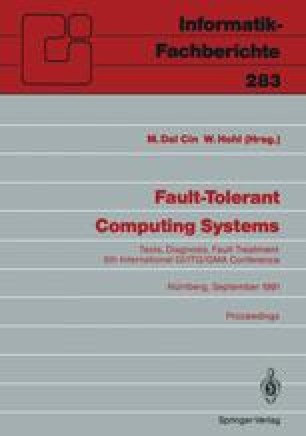 Fault-Tolerant Computing Systems