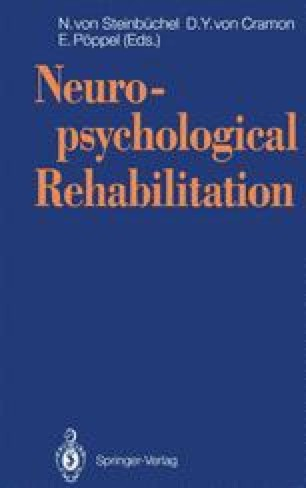 Neuropsychological Rehabilitation