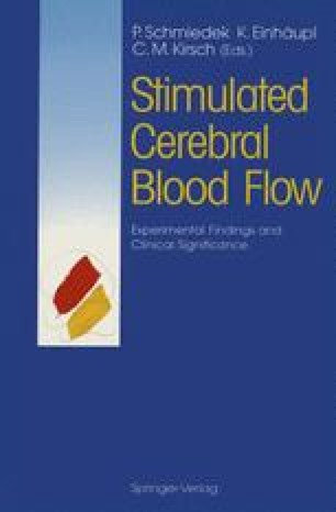 Stimulated Cerebral Blood Flow