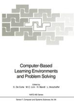Computer-Based Learning Environments and Problem Solving