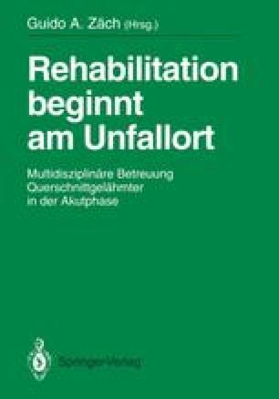Rehabilitation beginnt am Unfallort