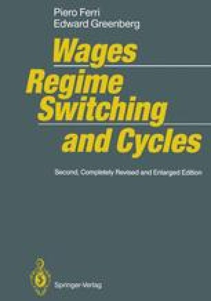 Wages, Regime Switching, and Cycles