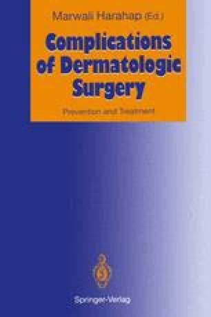 Complications of Dermatologic Surgery