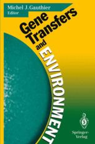 Gene Transfers and Environment