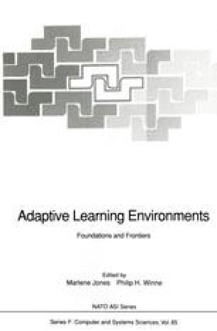 Adaptive Learning Environments