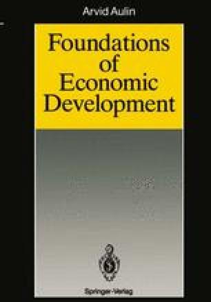 Foundations of Economic Development