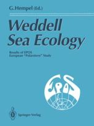 Weddell Sea Ecology