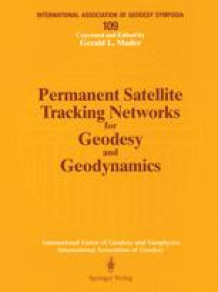 Permanent Satellite Tracking Networks for Geodesy and Geodynamics
