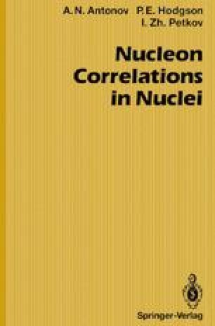 Nucleon Correlations in Nuclei
