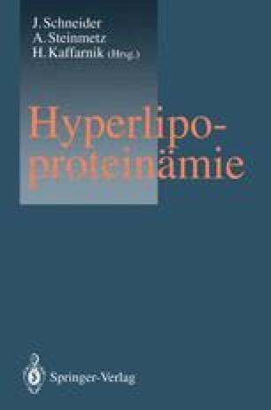 Hyperlipoproteinämie