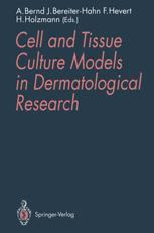 Cell and Tissue Culture Models in Dermatological Research