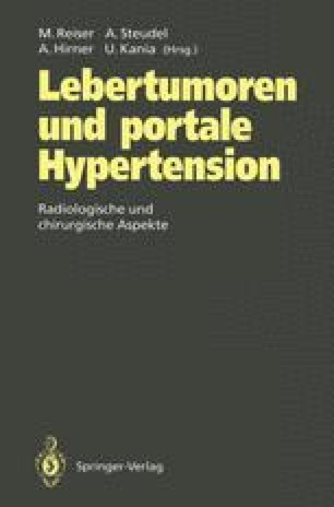 Lebertumoren und portale Hypertension