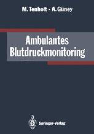 Ambulantes Blutdruckmonitoring