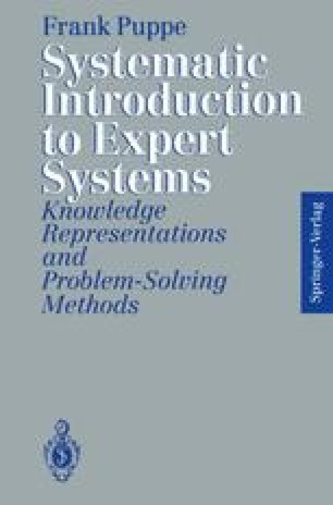 Systematic Introduction to Expert Systems