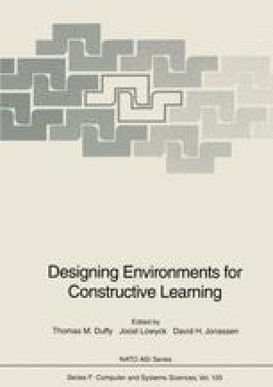 Designing Environments For Constructive Learning Springerlink