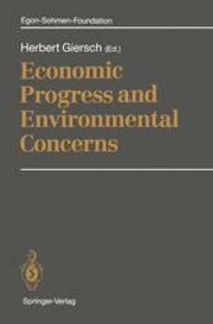 Economic Progress and Environmental Concerns