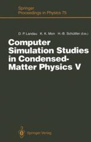 Computer Simulation Studies in Condensed-Matter Physics V