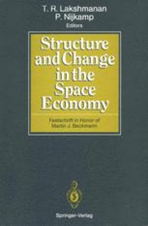 Structure and Change in the Space Economy