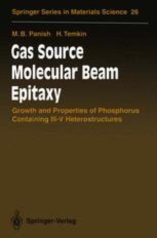 Gas Source Molecular Beam Epitaxy