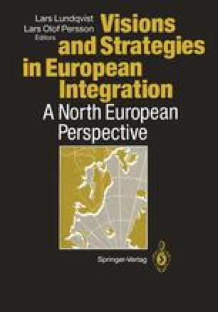 Visions and Strategies in European Integration