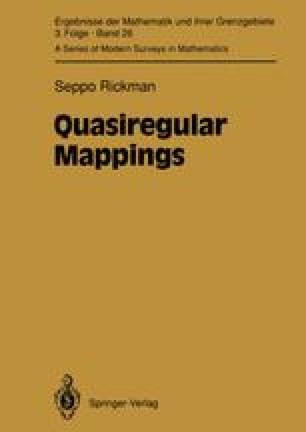 Quasiregular Mappings