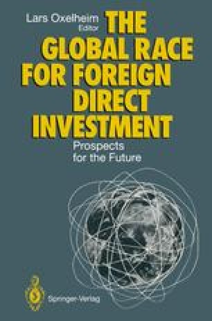 The Global Race for Foreign Direct Investment
