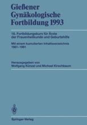 Gießener Gynäkologische Fortbildung 1993