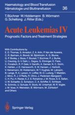 Acute Leukemias IV