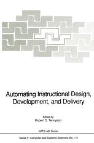 Automating Instructional Design Development And Delivery Springerlink