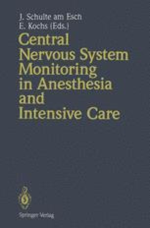 Central Nervous System Monitoring in Anesthesia and Intensive Care